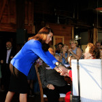 Alison Lundergan Grimes Secretary of State Senatorial Candidate at Churchill's in Berea, KY